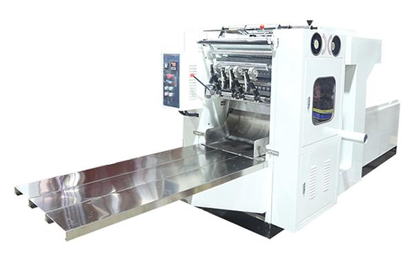 抽式盒装折面巾厨房纸折叠机-1